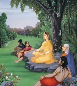 Sita in Lanka