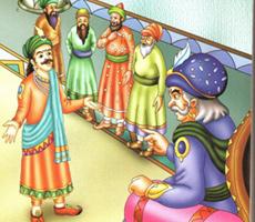 Akbar's 5 questions - Akbar Birbal Stories