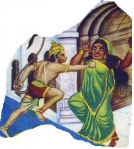 Lankini and Hanuman