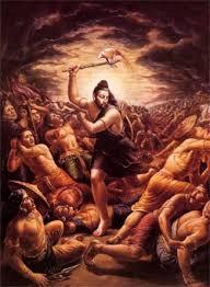 Parashurama Avatar - Parshuram killing Kshtriyas