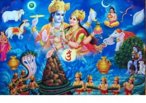Kurma Avatar - The second incarnation of Lord Vishnu- Samudra Manthan