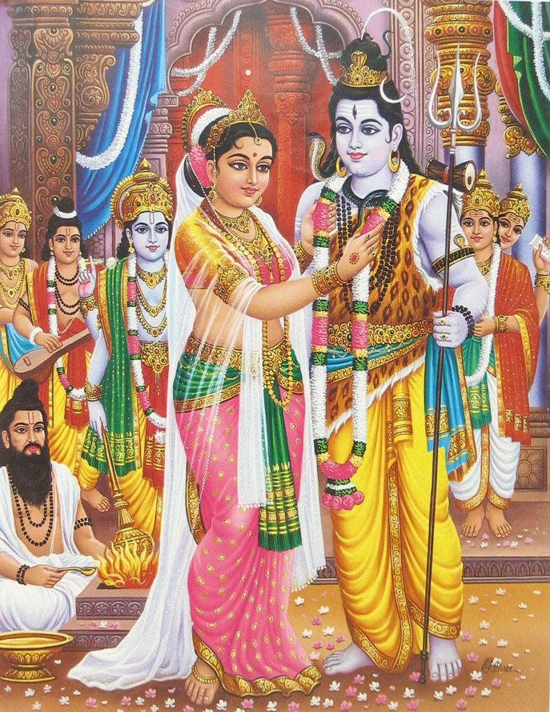 Lord Shiva Parvati Marriage Images for free download
