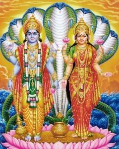 Vamana Avatar - Vishnu-lakshmi
