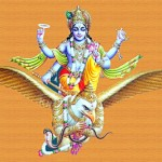 Kurma Avatar - The second incarnation of Lord Vishnu- Vishnu on garuda