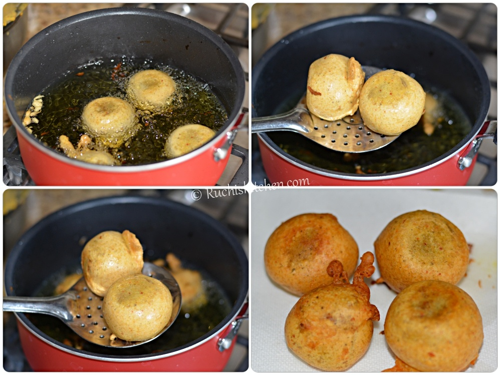 Alu- bonda- recipe