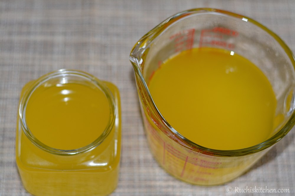 How to make Ghee from butter