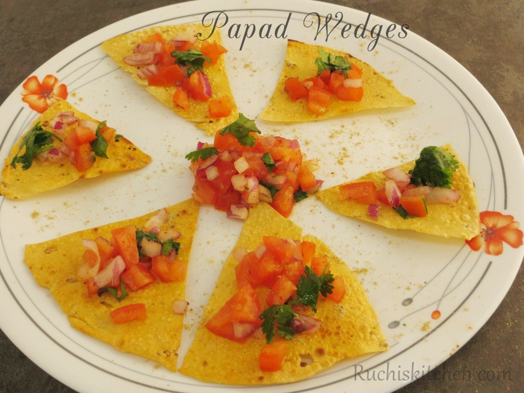Papad Wedges