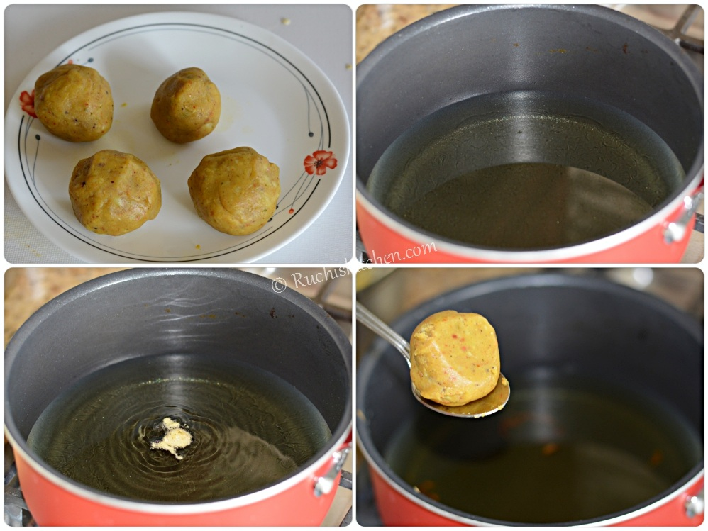 Alu bonda frying