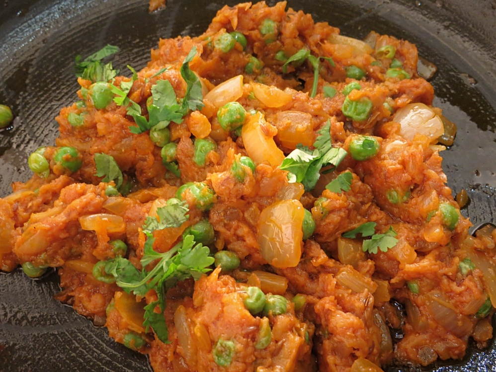 Baigan Bharta - Mashed eggplant recipe