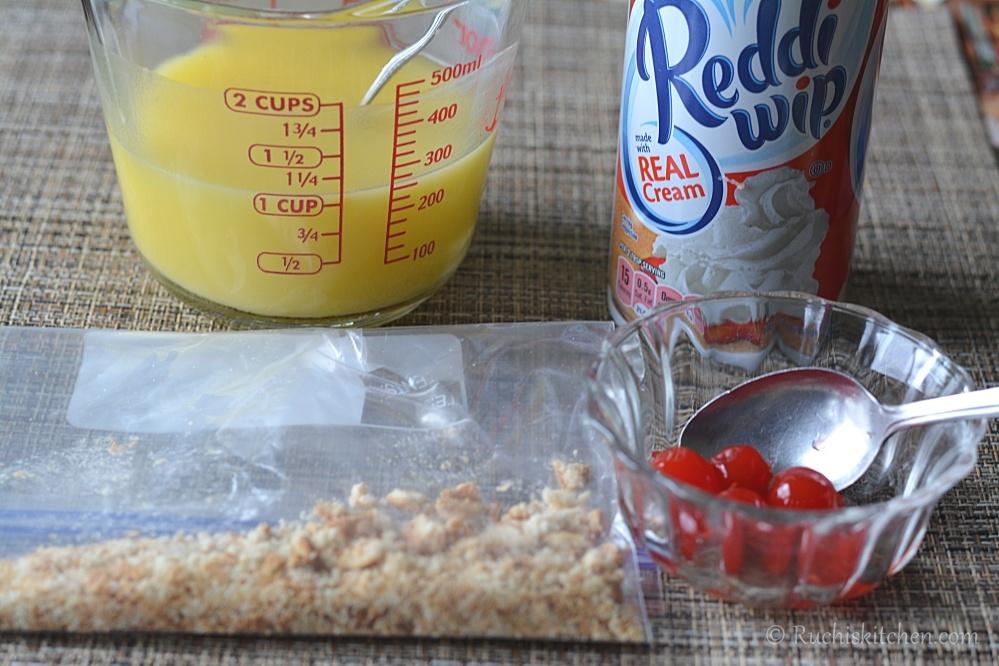 Fruit triple ingredients