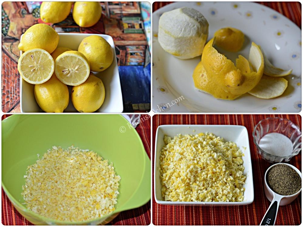 Homemade Lemon - Pepper Herb Seasoning