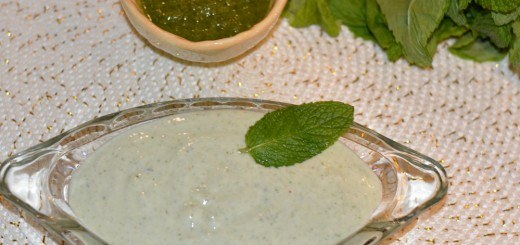 Mint chutney raita recipe