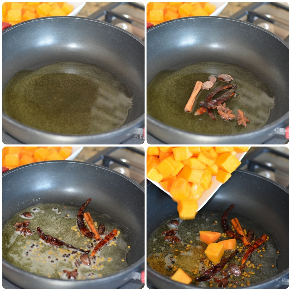 Petha sabzi ingredients