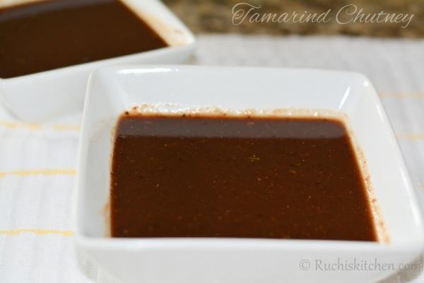 Tamarind-chutney