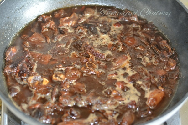 Tamarind - chutney - after 30 minutes