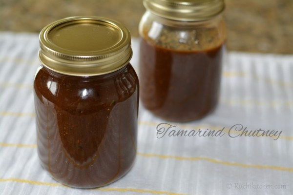 Tamarind- chutney in Jar