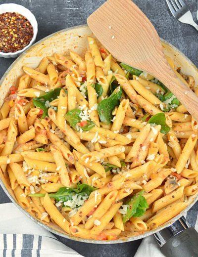 Penne Pasta in marinara sauce