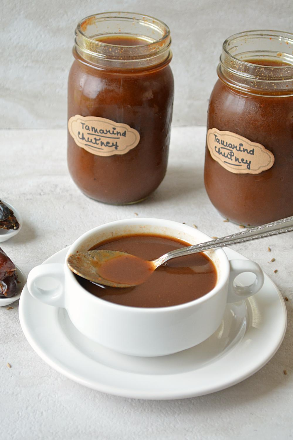 Tamarind and Date Chutney