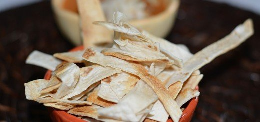 Baked Tortilla strips
