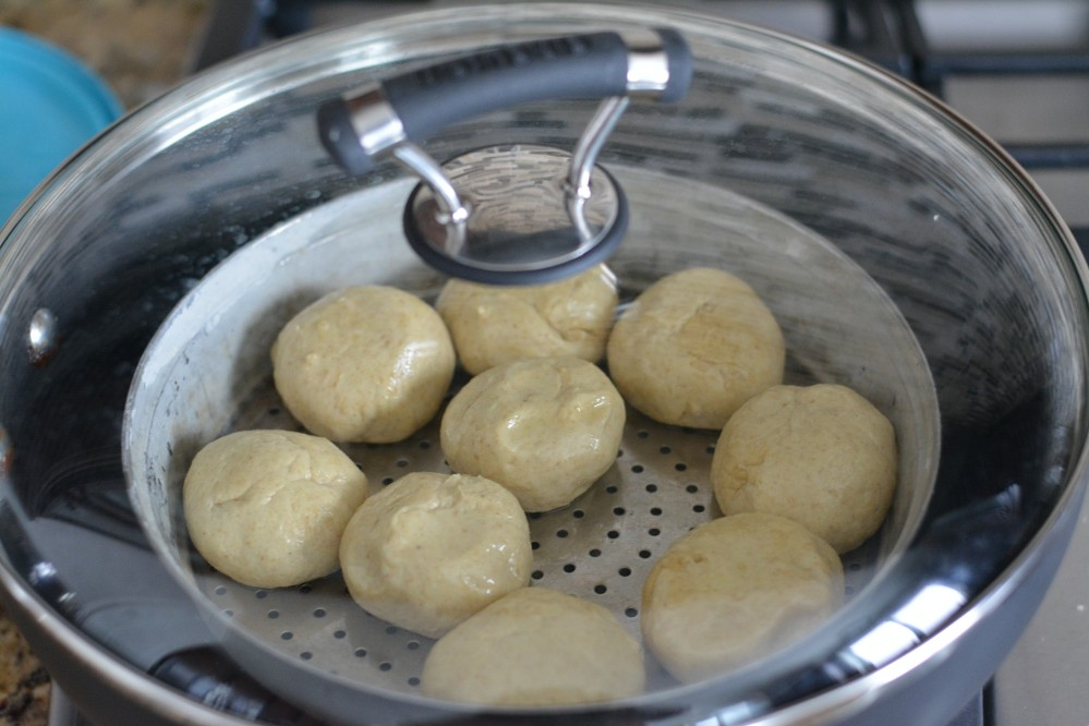 Bati without oven - step2
