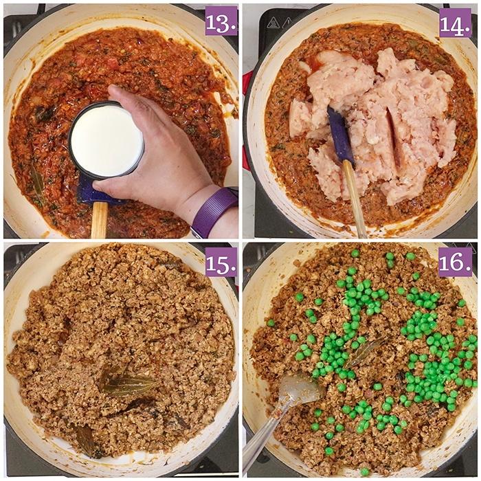 How to cook Chicken Keema Matar