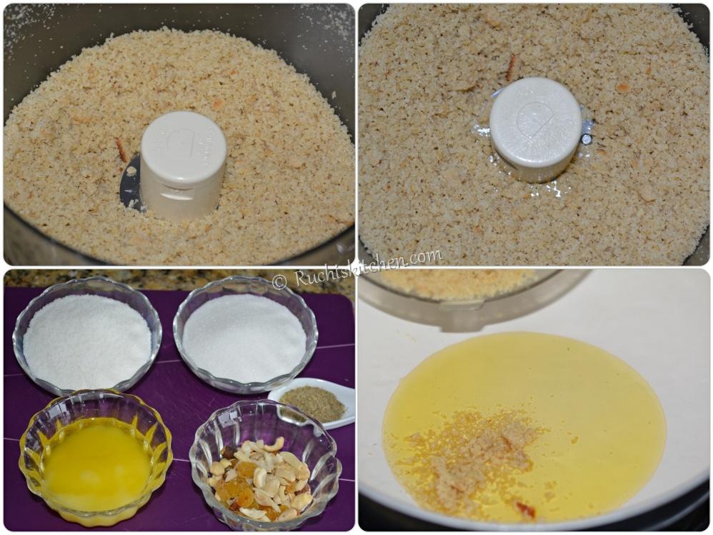 Churma ready for frying