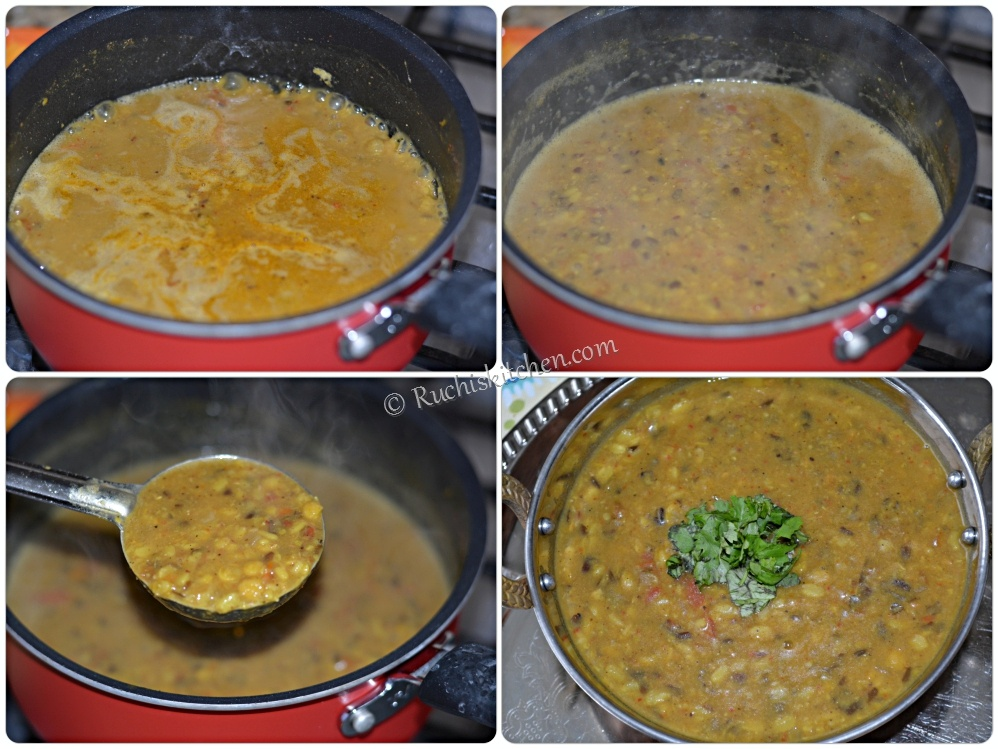 Dal for bati is ready