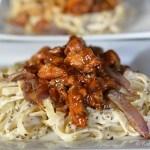 Fettucini pasta recipe