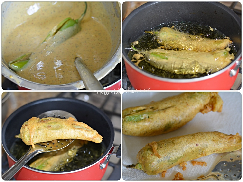Mirchi bada fried