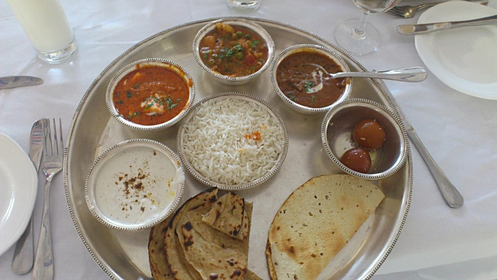 Rajasthani thaali
