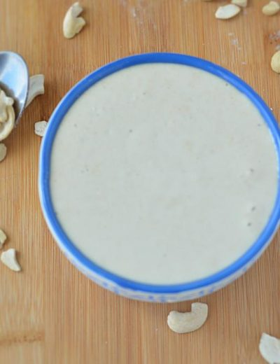 How to make Cashew Paste