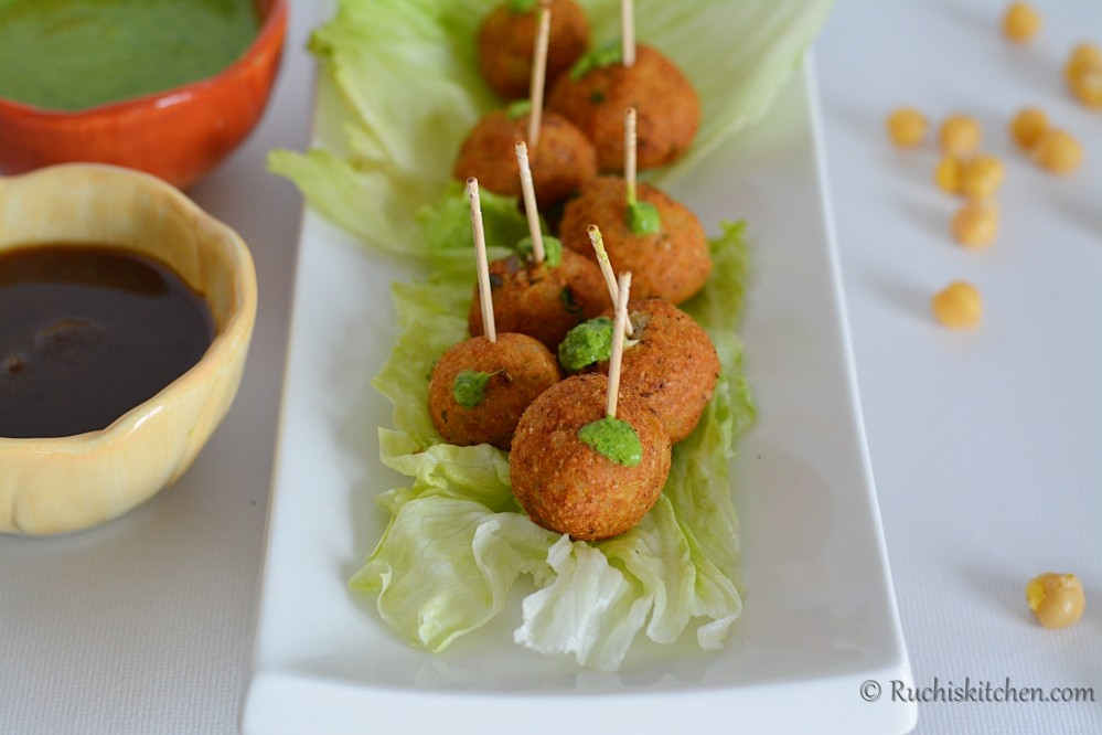 Cocktail snack - Potato Balls