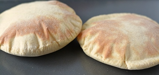 Baked Pita pockets