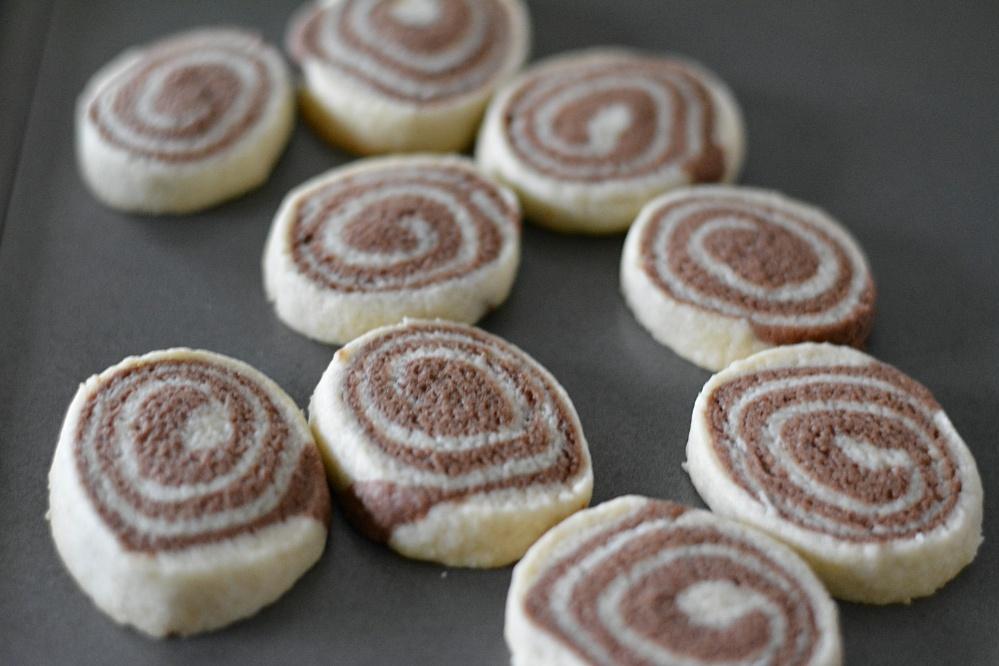 Pinwheel cookies- Baked cookies