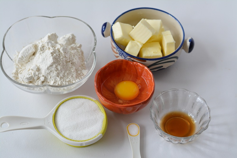 Pinwheel cookies- ingredients
