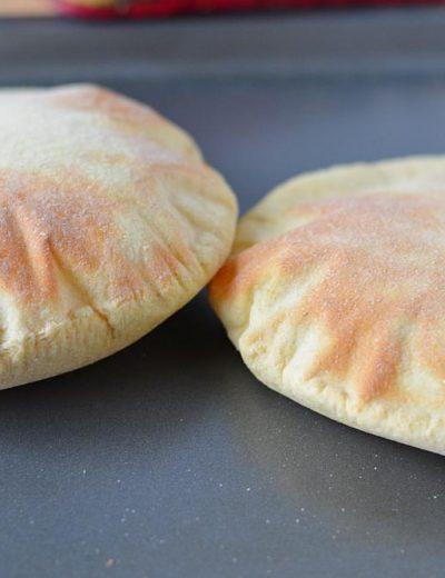 How to make pita bread or pita pockets