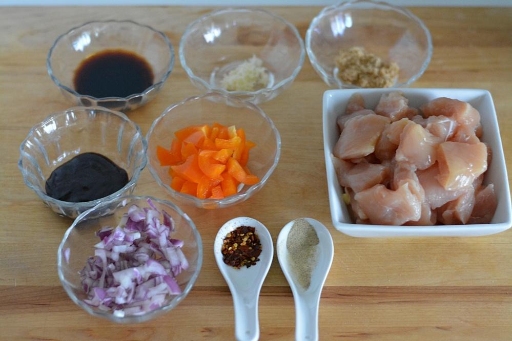 Thai Basil ingredients