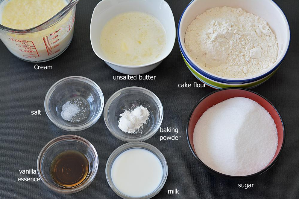 Cake Mix Ingredients