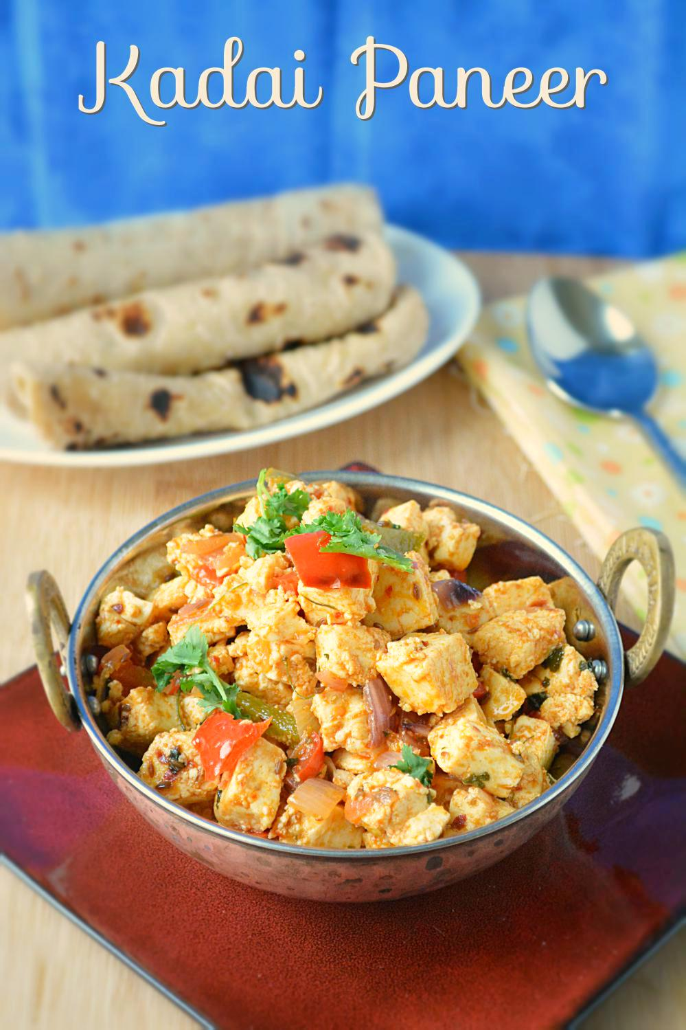 Kadai paneer recipe ruchiskitchen kadai paneer recipe forumfinder Image collections