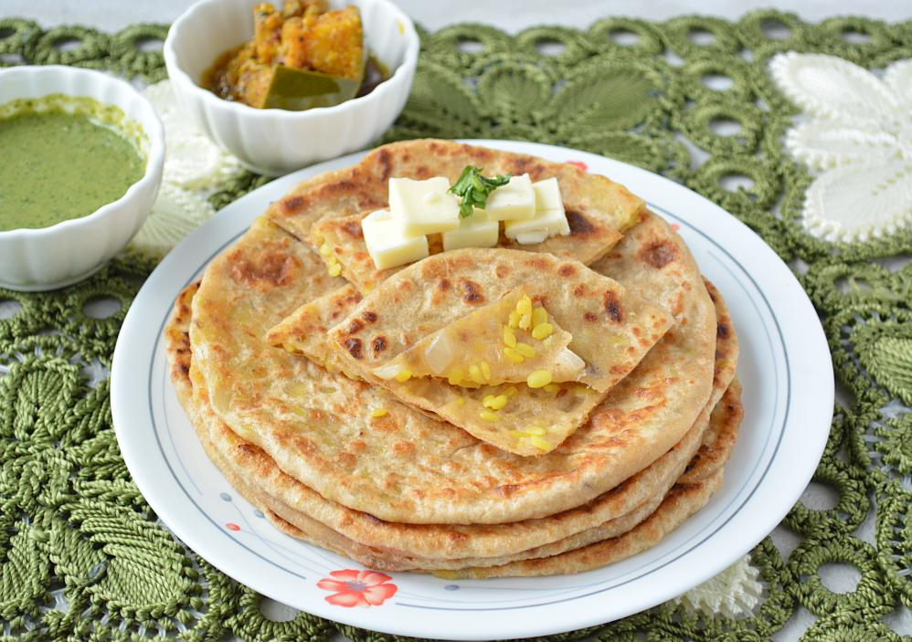 ... here try out other paratha recipe leftover dal paratha paneer paratha