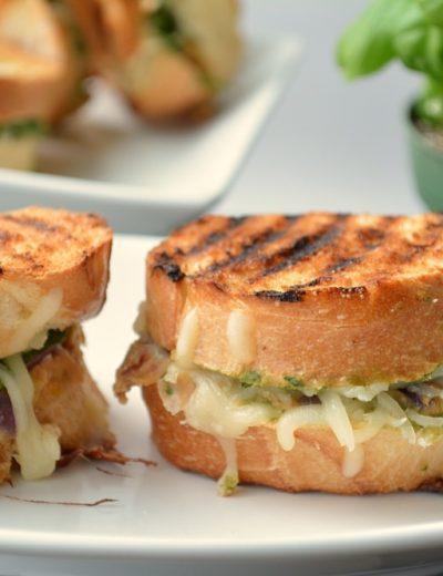 Vegetarian bruschetta Bean Sandwich