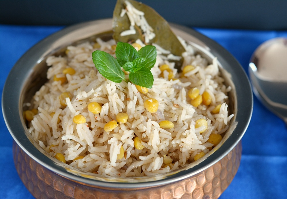 Chana dal pulao recipe