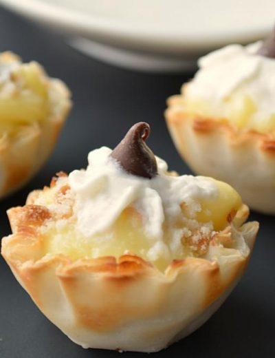 Mini Custard- Choco bowls