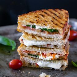 Margherita Sandwich Recipe