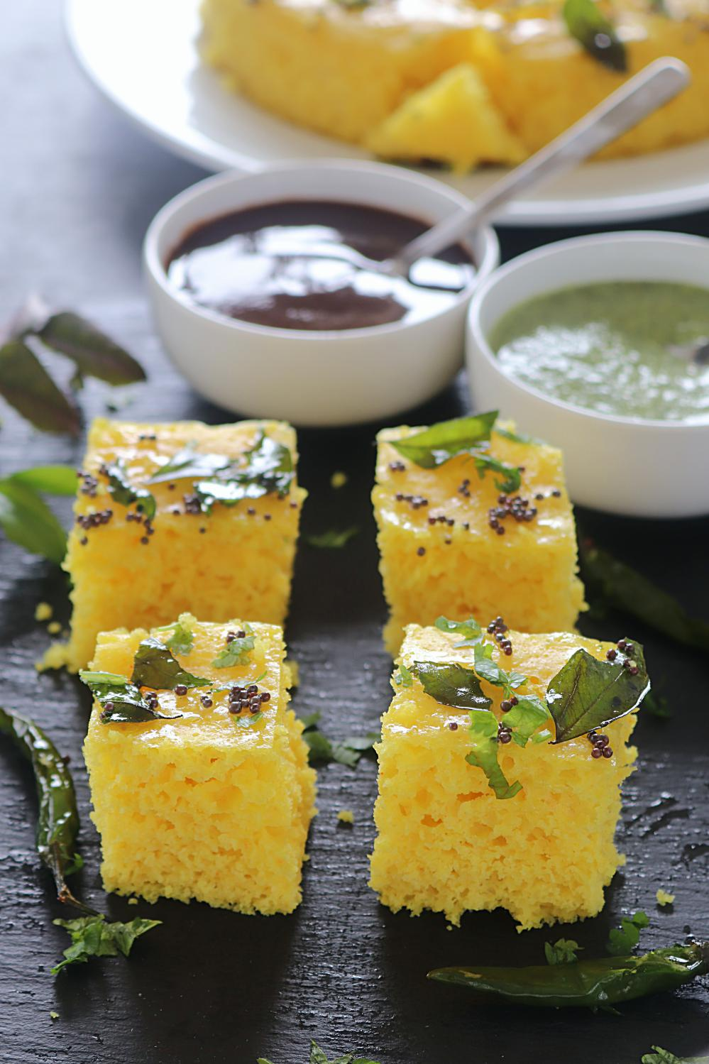 Fail proof instant khaman dhokla recipe dhokla with step by step instant khaman dhokla ruchiskitchen forumfinder Images