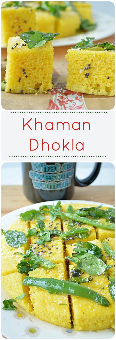 Instant Khaman Dhikla - Ruchiskitchen
