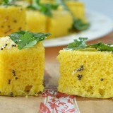 Step by step easy khaman dhokla - Ruchiskitchen