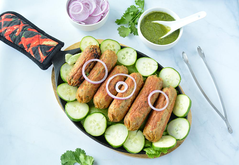 how to make seekh kabab