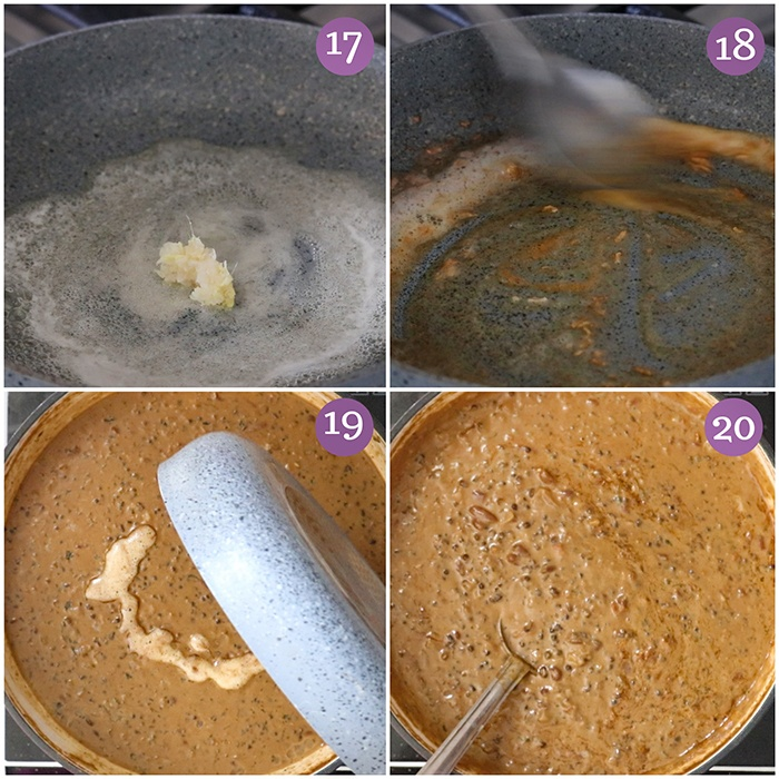 Dhungar method for  Dal Makhani recipe