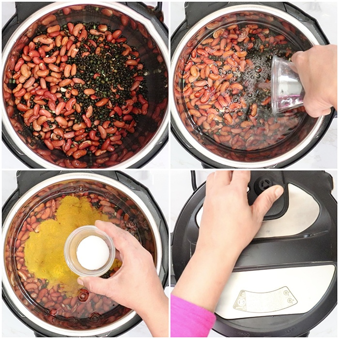How to make Dal makhani in Instant pot